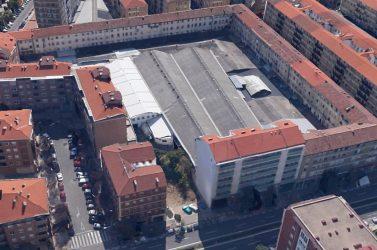Demolición para Mercadona en Pamplona (Navarra)