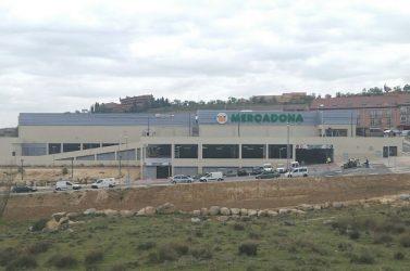 Finalizan los trabajos para Mercadona en Segovia