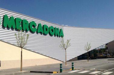 Terminado el centro de Mercadona en Tudela (Navarra)