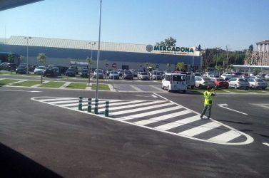 Terminan los trabajos para Mercadona en Cerdanyola del Valles (Barcelona)